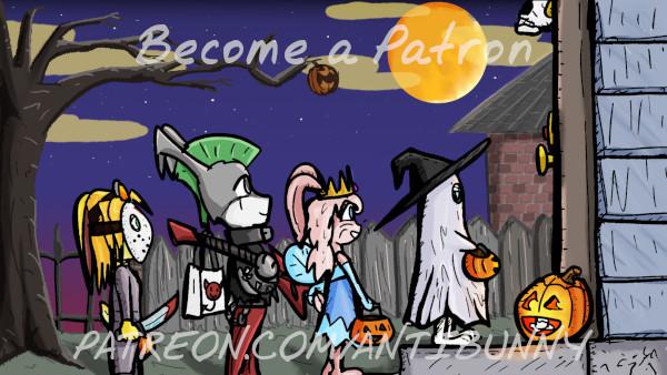 October Patreon Wallpaper by Fragraham