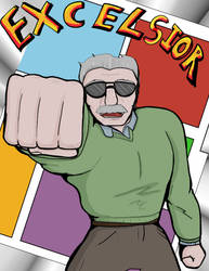 Stan Lee Tribute by Fragraham