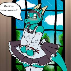 YCH Maid #1 by Fragraham