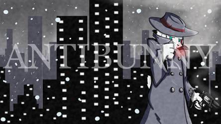 AntiBunny December Patreon Wallpaper