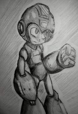 Yet Another Megaman Sketch