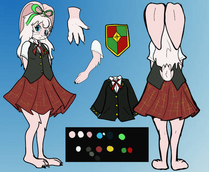 Penelope's School Uniform Ref Sheet