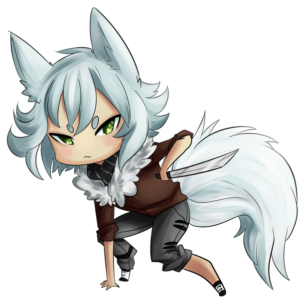 Angry Chibi by Hackwolfin on DeviantArt