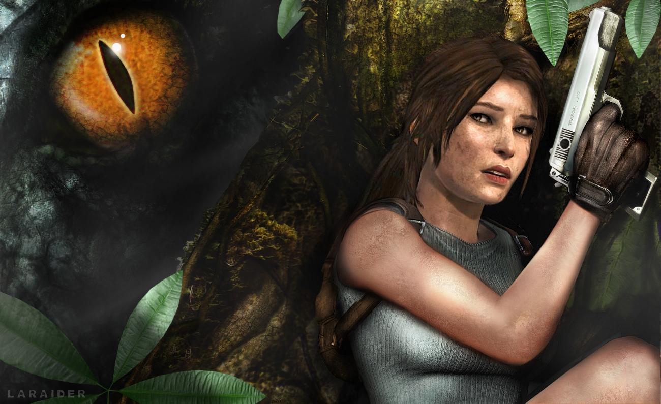 [Laraider] Montage Lara Croft 51 by laraider-com