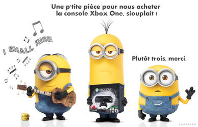 MINIONS vs XBOX ONE (FR) by laraider-com