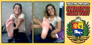 Students Venezuelan Girls Feet