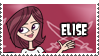 Elise's Stamp by 100latino
