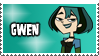Total Drama Stamp - Gwen by 100latino