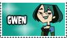 Total Drama Stamp - Gwen by 100latino