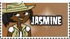 Total Drama Stamp - Jasmine by 100latino