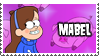 Mabel's Stamp by 100latino