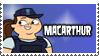 TDRR Stamp - MacArthur by 100latino