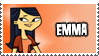 TDRR Stamp - Emma by 100latino