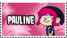 Pauline's Stamp by 100latino