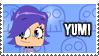 Yumi's Stamp by 100latino