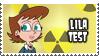 Lila Test's Stamp