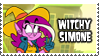 Witchy Simone's Stamp by 100latino