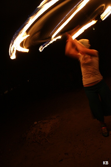 fire hoopin by dancekellydance