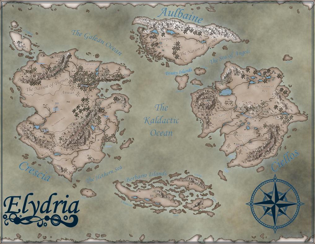 Elydria Map -- Updated by SesshomaruLOVESme