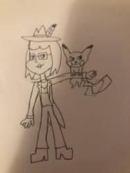 She mask and pikachu