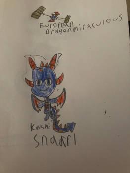 European Dragon miraculous and snaarl