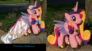 Feathered Wings Wedding Cadance Plushie