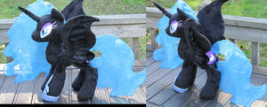 NMM Plushie Progress- Curse you, Satin! by The-Crafty-Kaiju