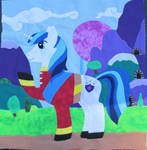 Shining Armor Charity Pony Quilt Square