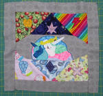 Finished EFNW Charity Quilt Square S1 E2