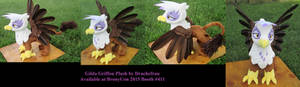 Feathered Gilda Griffon Plush