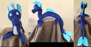 Nessie the Water Dragon by The-Crafty-Kaiju