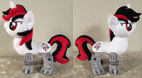 Blackjack Plush for BronyCon Charity Auction