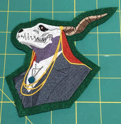 Elias Ainsworth Embroidered Patch