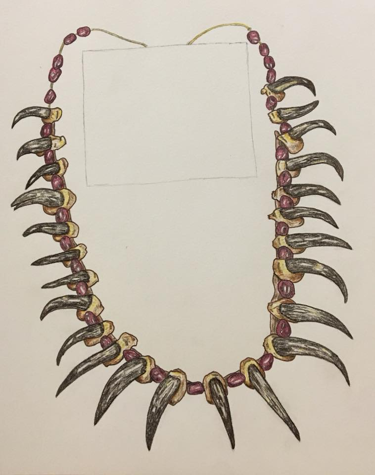 Plains Indian Necklace Study by The-Crafty-Kaiju
