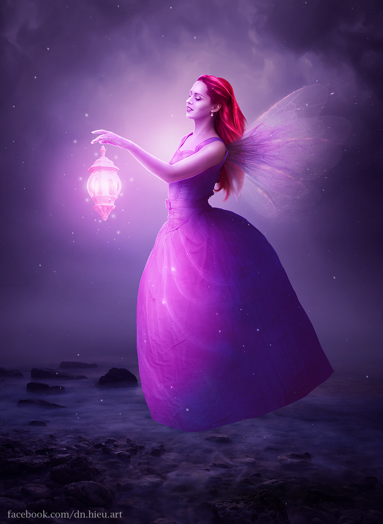 Fairy With Lamp by Hieu-Art