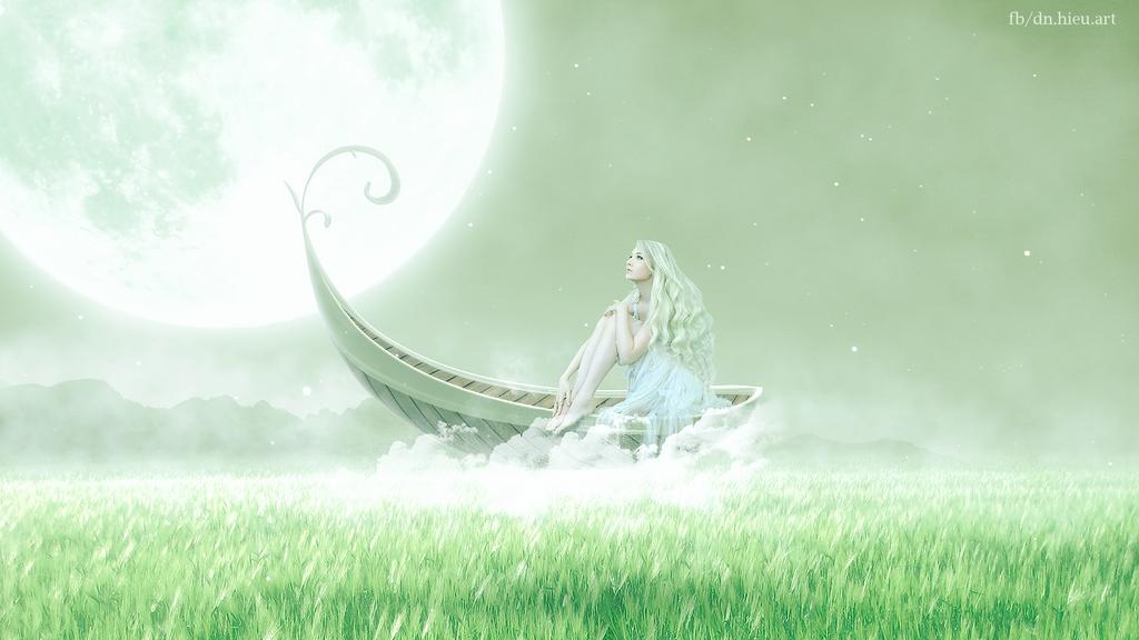Maria Amanda And Boat Fantasy by Hieu-Art