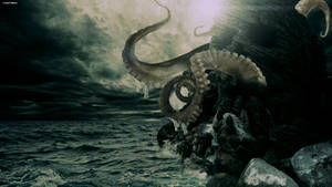 The Guardian of the Skull Island by iBlackrow