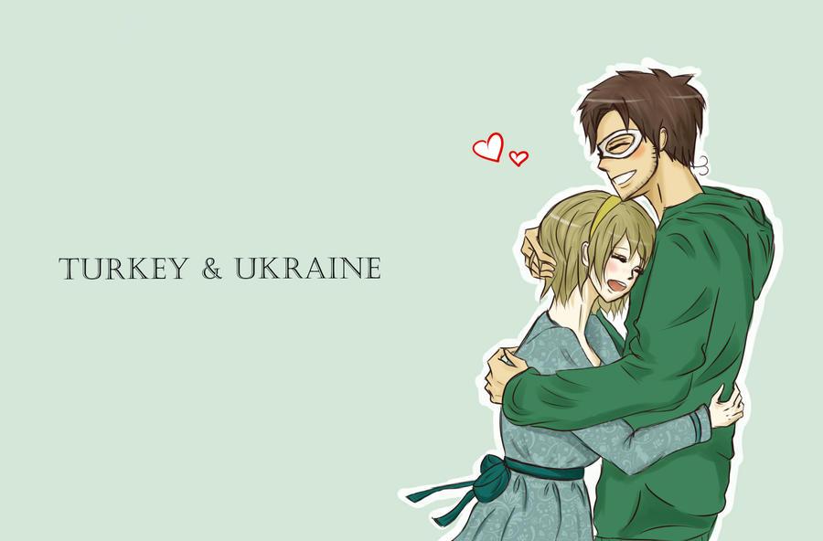 Turkey and Ukraine by Taimuaki