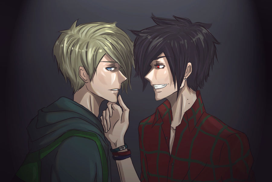 Adventure Time: Finn and Marshall Lee