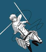 Eren Jaeger / Attack on Titan by Taimuaki