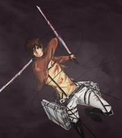 Eren Jaeger / Shingeki no Kyojin by Taimuaki