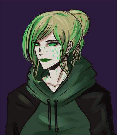 Green sprite by Taimuaki