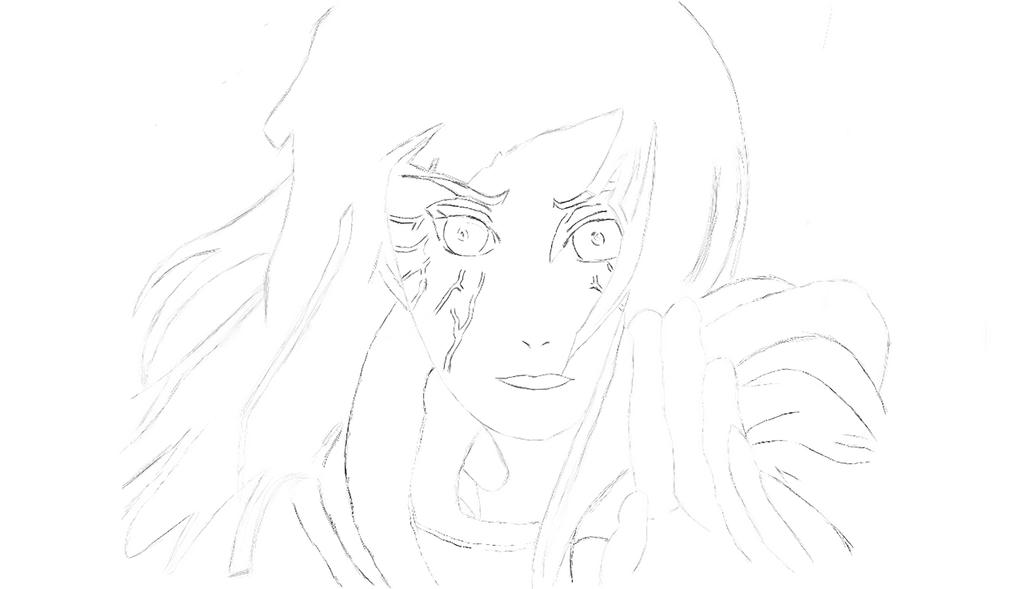 Hinata Sketch by HavokOverlord