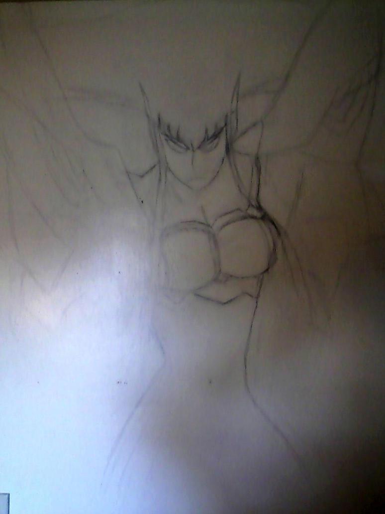 Kamui Junketsu wall sketch by delitiaheiral