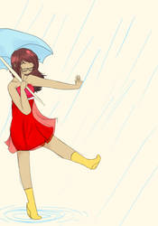 Rainy Homecomings by mrssuperstar411