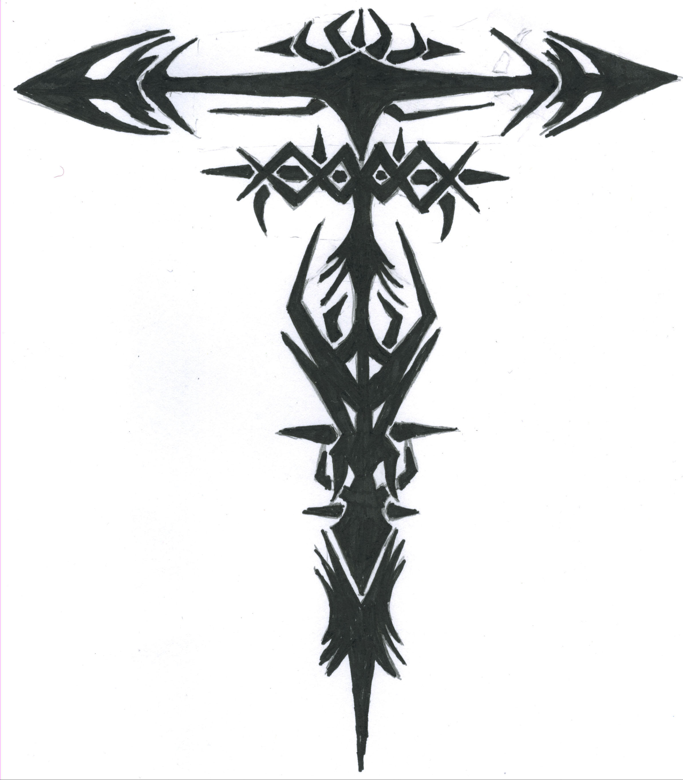 fore arm tribal tattoo designs
