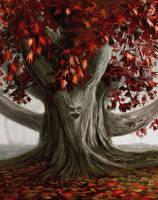 Weirwood tree by Benco42