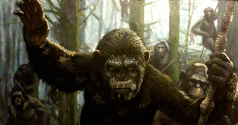 Dawn of the Planet of the Apes by Benco42