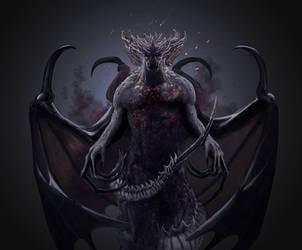 Gargoyles Genesis- Nereus 3 by Benco42