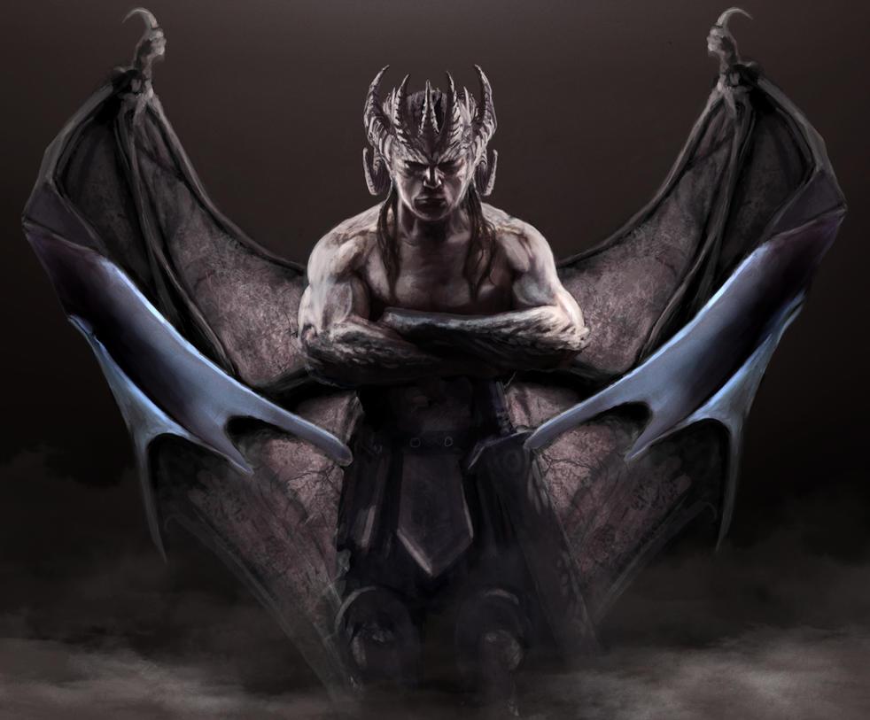 Gargoyles Genesis- Thales 3 by Benco42